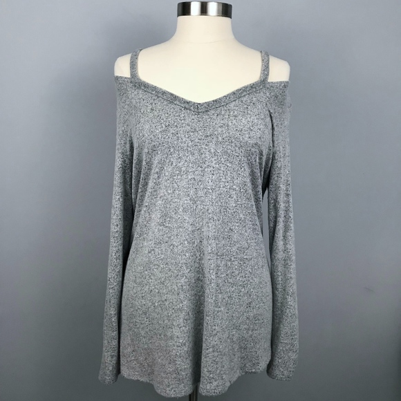 e1d36af7dbe Moa Moa Sweaters | Daytrip Cold Shoulder Sweater Large | Poshmark